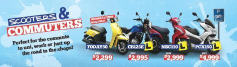 Botany Honda Commuter Motorcycle Ad 176x49 2-page-001